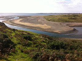 Ogmore Beach Mouth is a popular fishing location